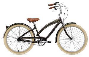 Nirve Classic Ladies 3 speed Bicycle (Black)