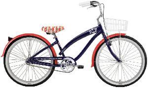 Nirve Women's Paul Frank Nautical 1-Speed Cruiser Bike