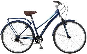 Schwinn Women's Network 2.0 700C Hybrid Bicycle, Blue, 16-Inch