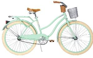 Huffy Women's Deluxe Cruiser Bike, Mint Green, 26-Inch/Medium