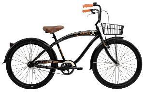 Nirve Men's Paul Frank 1-Speed Road Warrior Bike (Black, 18-Inch Frame - 26-Inch Wheels)