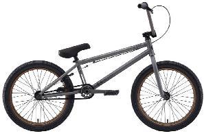 Eastern Bikes Boss  BMX Bike (Matte Phosphate/Bronze Rim, 20-Inch)