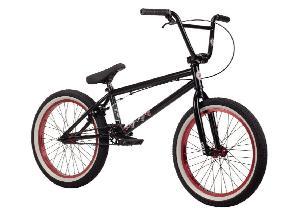 Kink 2014 Whip BMX Bike, Matte Black, Toptube: 20.5-Inch
