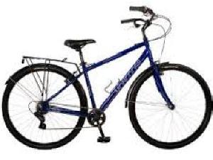 Mongoose Xcom 700c Bike (Blue
